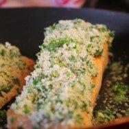 Panko & Herb Crusted Salmon