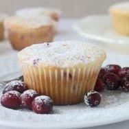 Cranberry & Orange Cupcakes