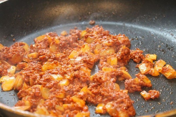 how to tell when chorizo is done cooking
