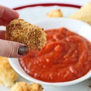 Chicken Parmesan Poppers: Frugal & Figure-Friendly Fridays