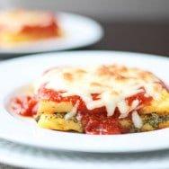 """Baked Polenta """"Lasagna"""""""