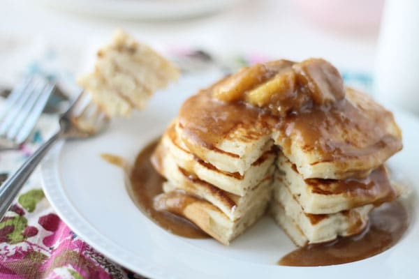 Surprises and Bananas Foster Pancakes - Cooking for Keeps