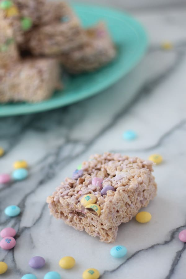 Last Minute Easter Rice Krispie Treats