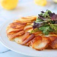 Garlic & Parmesan Potato Galette