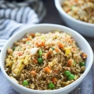 "Quinoa Fried ""Rice"""