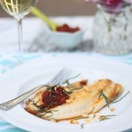 Tilapia with Sun-dried Tomato Pesto- The Sustainable Seafood Blog Project