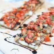 Grilled Bruschetta Flatbreads