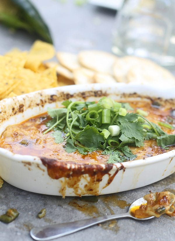 Chorizo and Poblano Queso Fundido (Cheese Dip) 5
