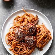 The Best Spaghetti and Meatballs There Ever Was