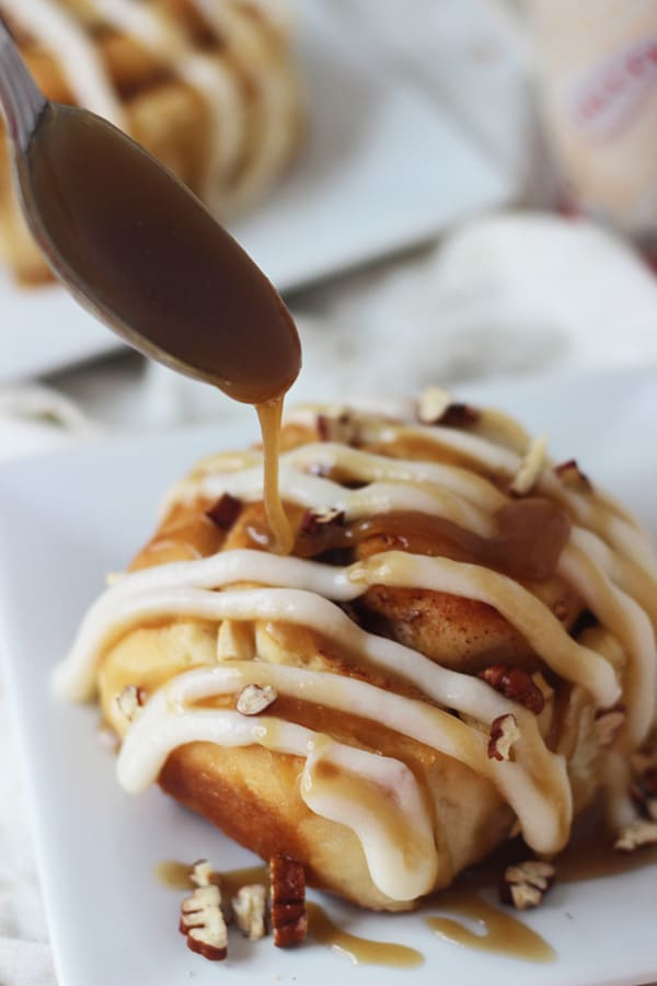 Pecan Stuffed Apples With Caramel Sauce Recipes — Dishmaps