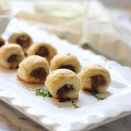 Puff Pastry Sausage Rolls PS1