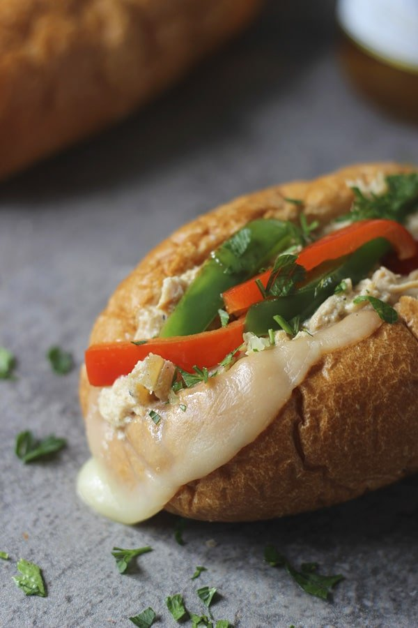 Slow Cooker Sloppy Ranch Chicken Sandwiches 2