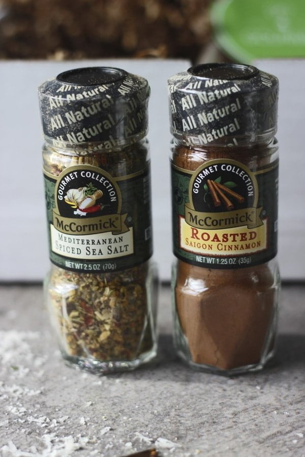 Almond and Sea Salt Crusted Chicken Spices