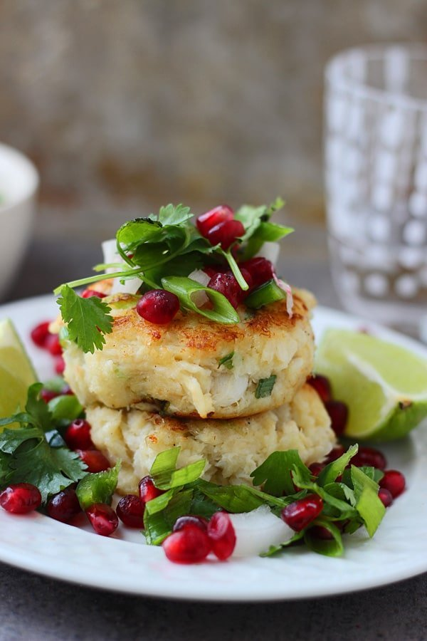 Crispy Crab Cakes With Pomegranate Salsa Cooking For Keeps