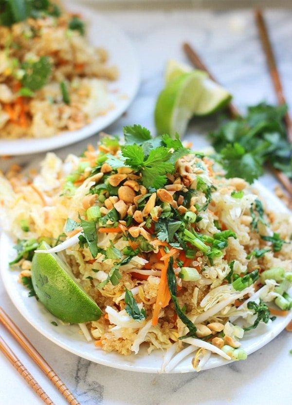 Quinoa Pad Thai 2