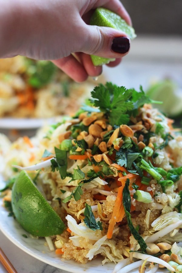 Quinoa Pad Thai 6