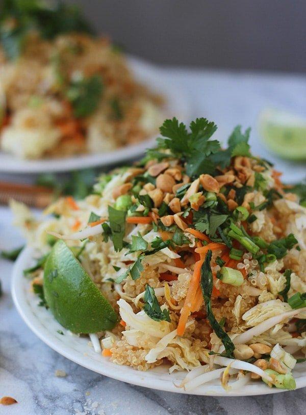 Quinoa Pad Thai 7