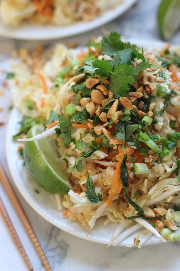 Quinoa Pad Thai 9