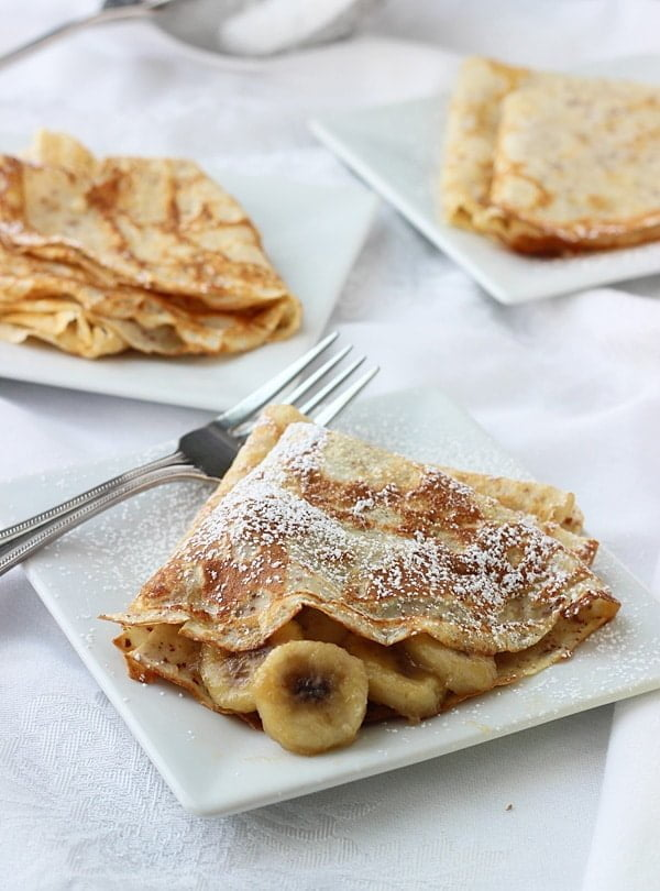 Bananas Foster Crepes 4