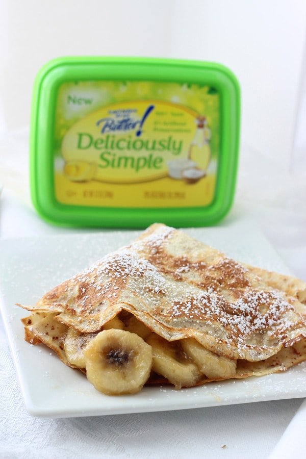 Bananas Foster Crepes 6