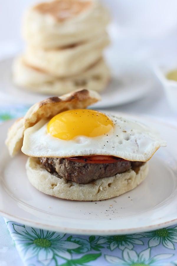 Eggs Benedict Burgers 3