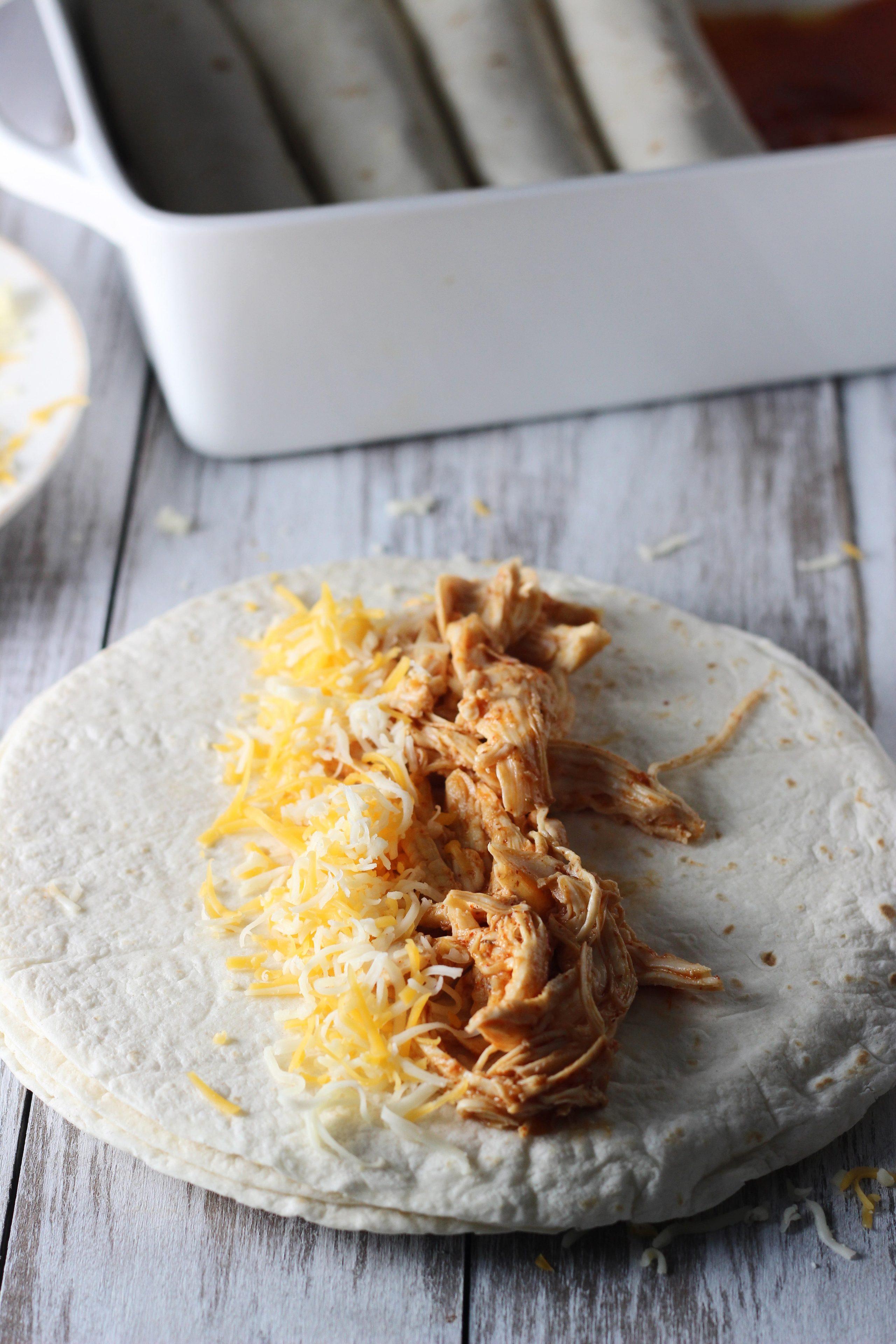 Classic Chicken Enchiladas 10