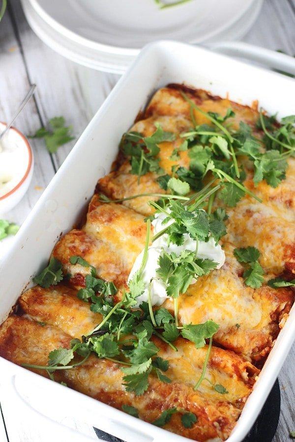 Classic Chicken Enchiladas 3
