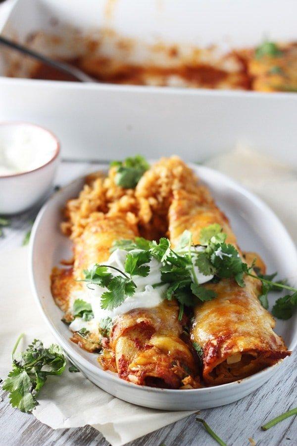 Classic Chicken Enchiladas 6