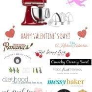 Valentine's Chocolate and Peanut Butter Bars + KitchenAid Mixer Giveaway