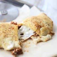 Cheesy Lasagna Calzones ~ Oh Sweet Basil