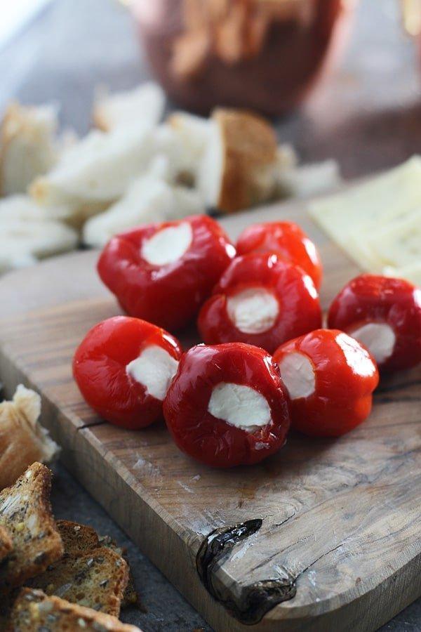 Peppadew Peppers Stuffed with Whipped Feta