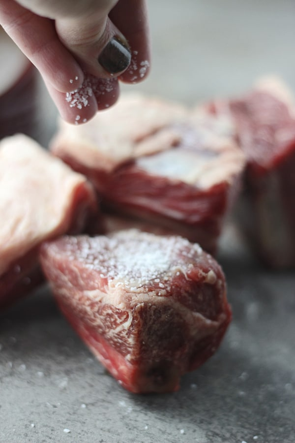 Pomegranate Braised Beef Short Ribs with Brown Butter ...