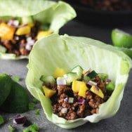 Blogger Friday: Hoisin Lime Pork Lettuce Wraps from Fabtastic Eats