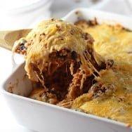 Cheesy Quinoa Mexican Casserole