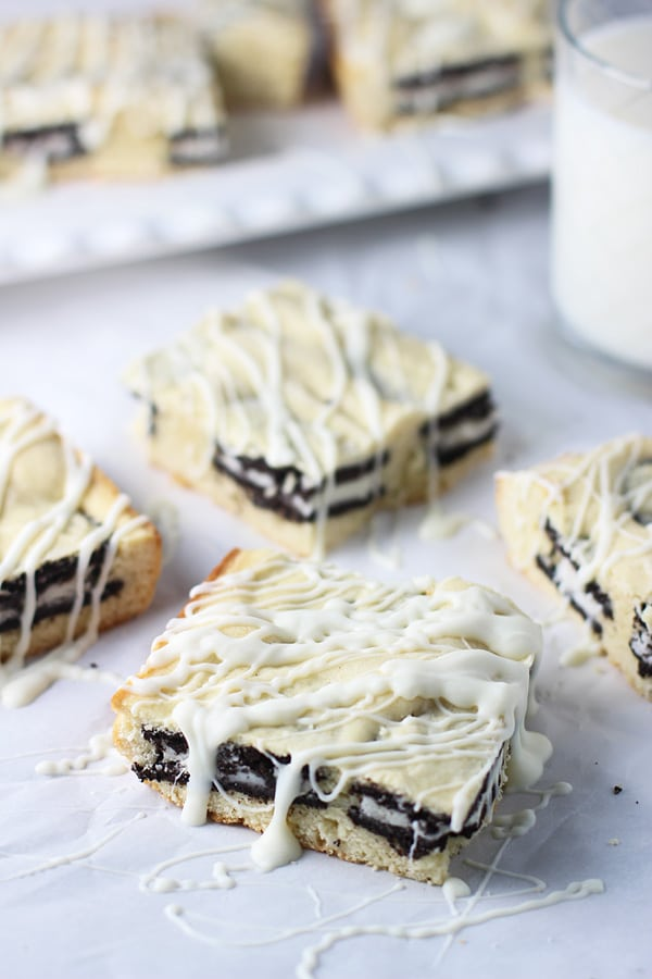 Cookies and Cream White Chocolate Blondies PS2