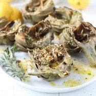 Grilled Artichoke Recipe with Garlic Breadcrumbs