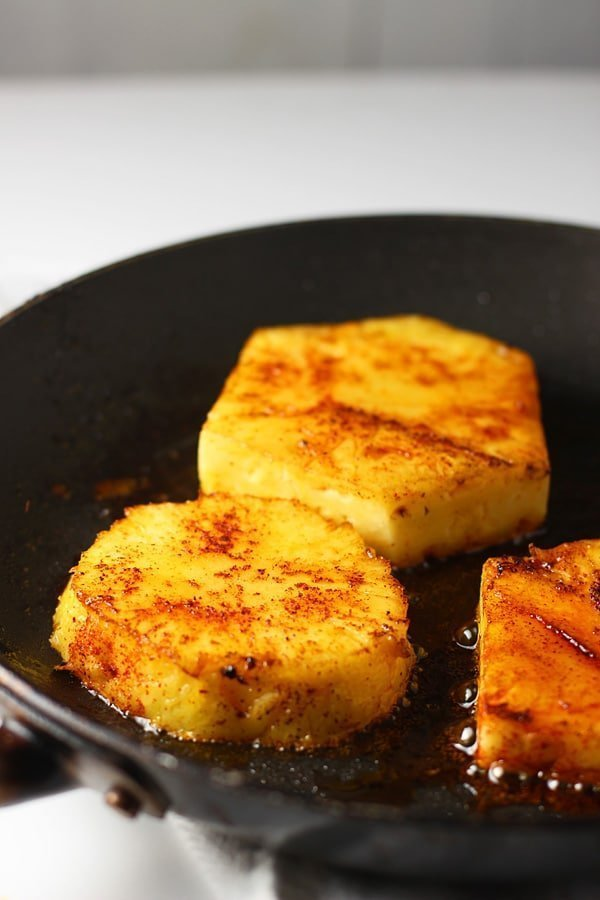 Pineapple, Bacon and Shrimp Guacamole via cookingforkeeps.com