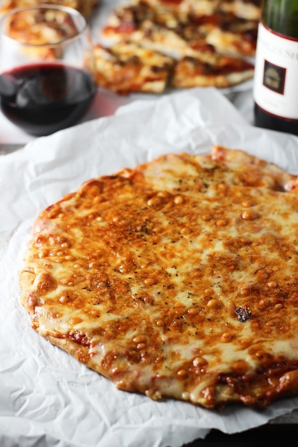 Copycat Imo's St.Louis Style Pizza with No Yeast, No rest Crust