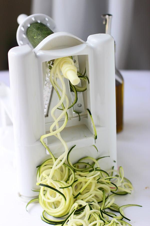 Zucchini Pasta Carbonara 4