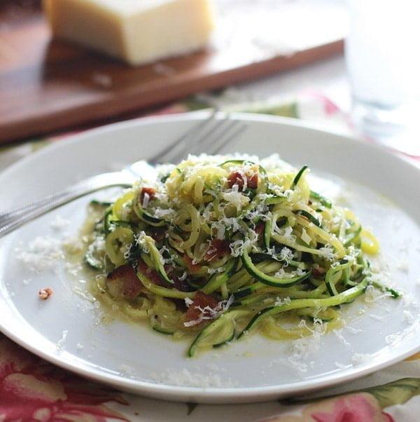Zucchini Pasta Carbonara PS1