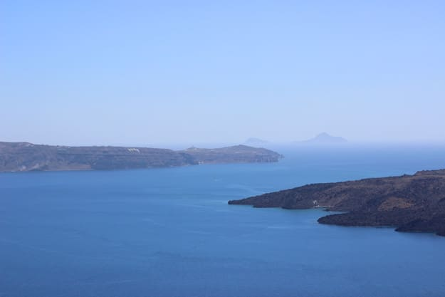 Santorini Greece via cookingforkeeps.com