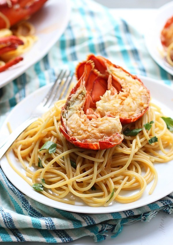 Lobster Spaghetti Recipe — Dishmaps