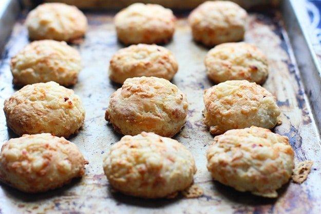5 Ingredient Jalapeno Cheddar Biscuits 5