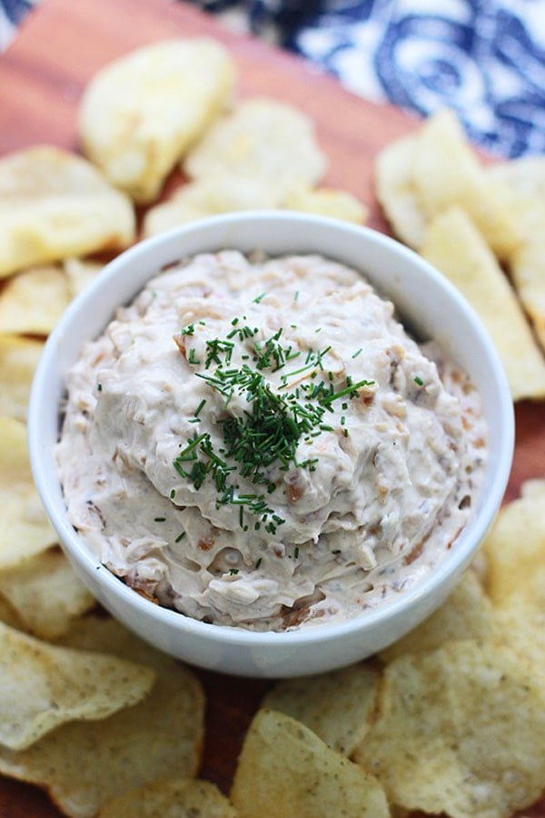 Brown Butter French Onion Dip 4