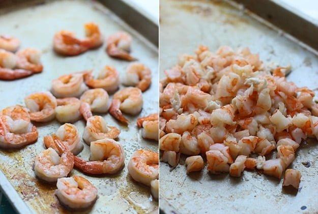 Skinny Shrimp and Crab Enchiladas with Tomatillo and Hatch Pepper Sauce via cookingforkeeps.com