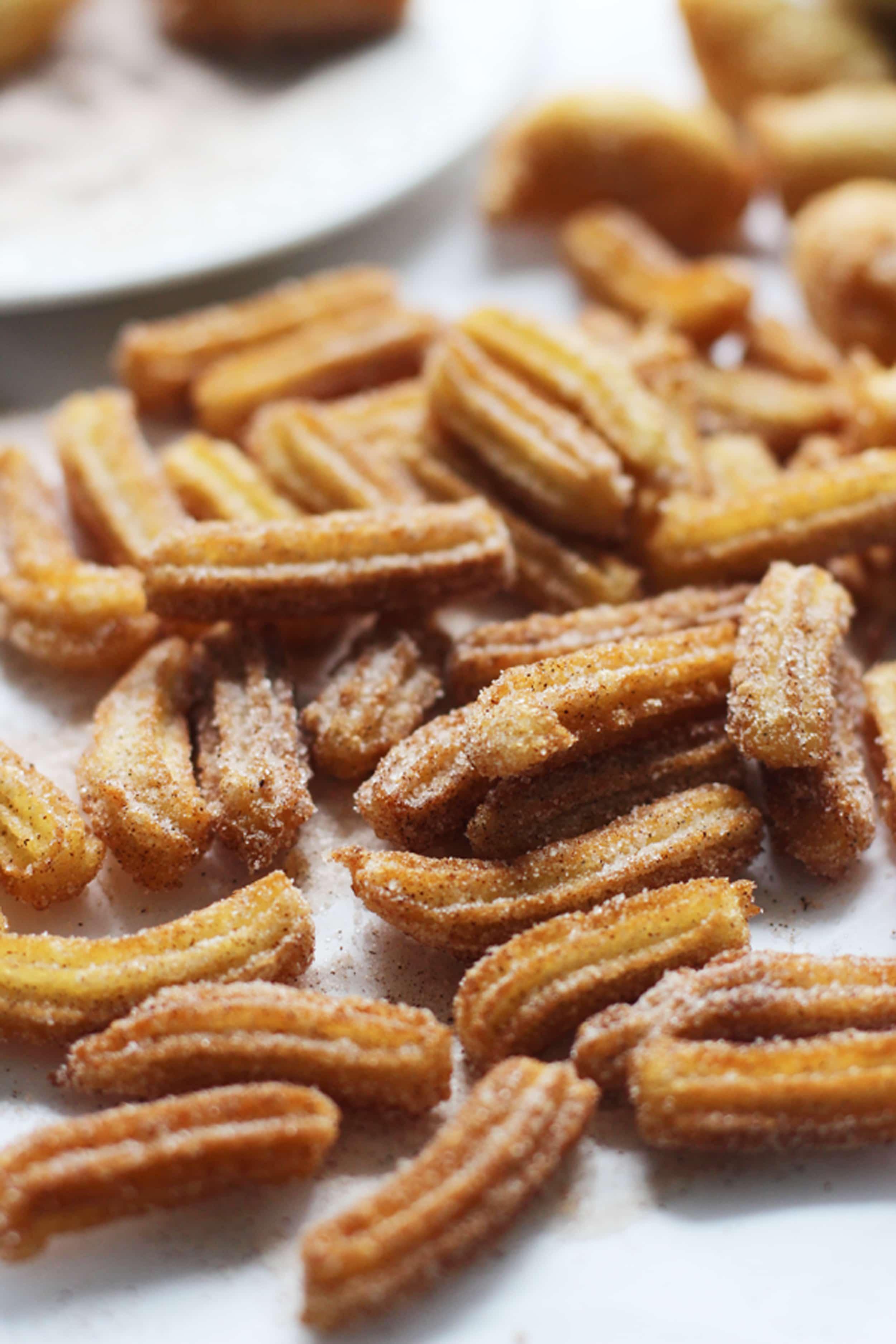 Brown Butter Churro Fries with Three Minute Salted Brown Butter ...