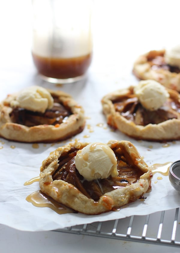 Chocolate And Caramel Apple Pie Galette Recipes — Dishmaps