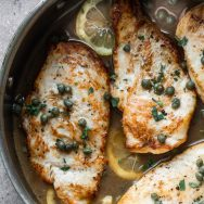 5-Ingredient Healthy Chicken Piccata