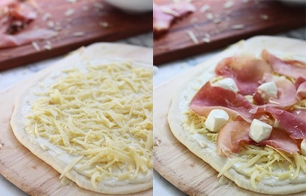 Croque Madame Pizza 8