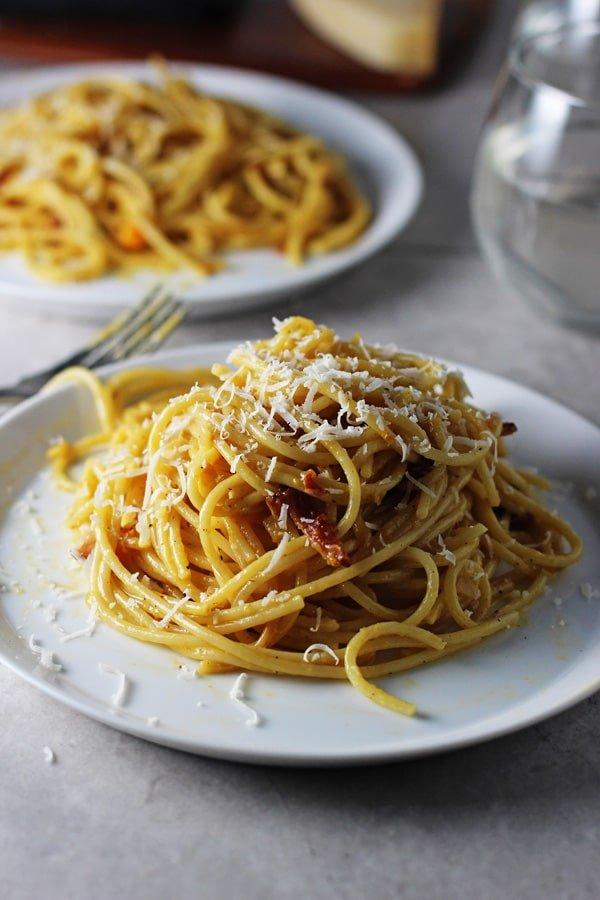 Butternut Spaghetti Carbonara 4